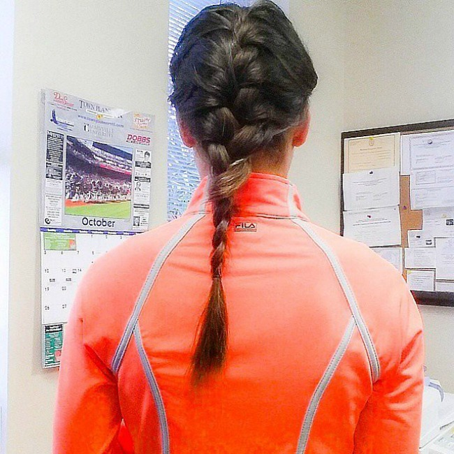 French Braid Najbolje frizure za trening