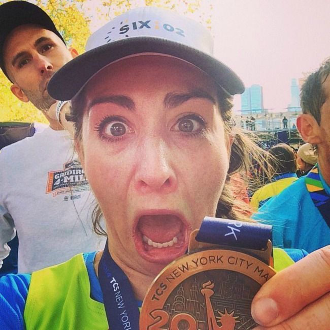 Hold while I go balls my eyes out I can run marathon you can run marathon Selfiji sa maratona