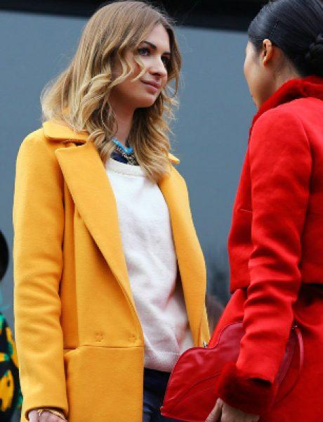 Šta obući ove nedelje: Kaput u boji