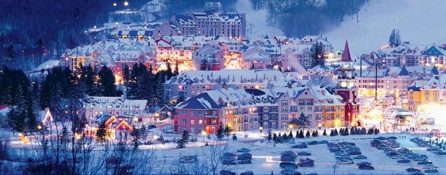 Mon tremblant Najlepši predeli sveta zimi