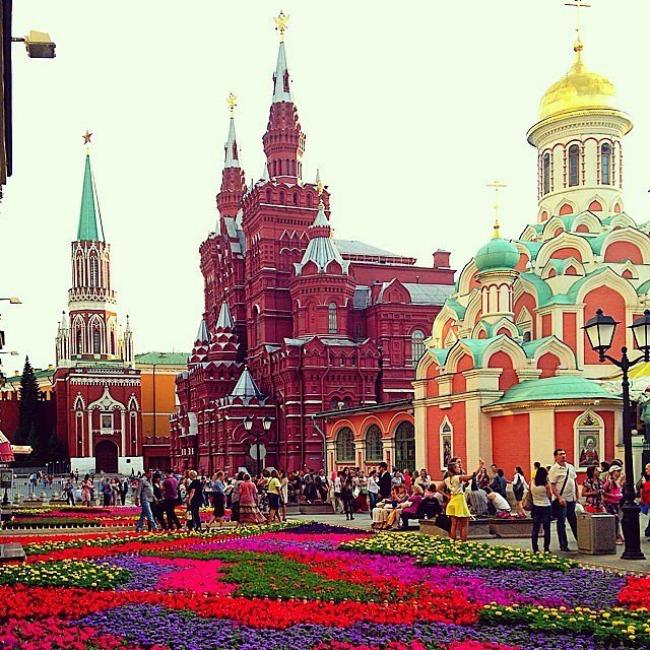 Moscow Najpopularnije Instagram turističke destinacije