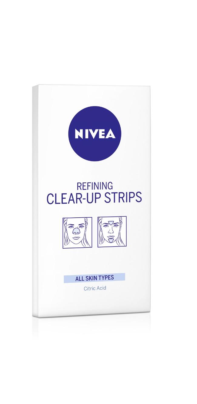 NIVEA Clear up trakice za T zonu NIVEA Clear up trakice za T zonu