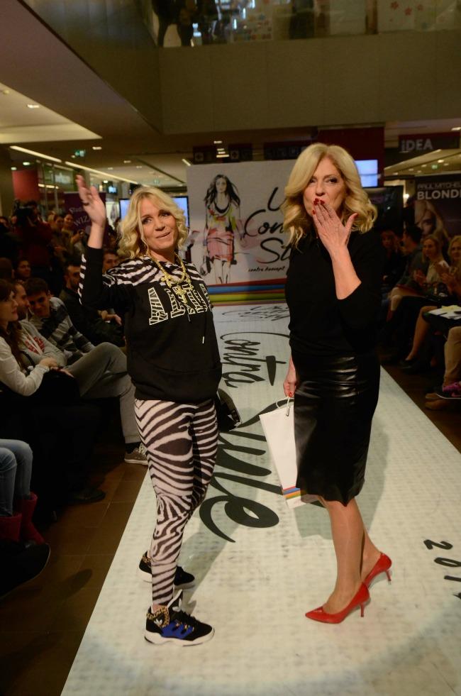 Pobednice Tanja Radjenovic i Ljiljana Perovic Održana UŠĆE Contra Style modna revija