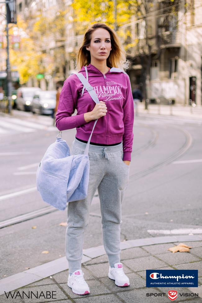 Sandra Fluid girls Champion modni predlog Wannabe 4 Champion modni predlog: Spremna za hladne dane