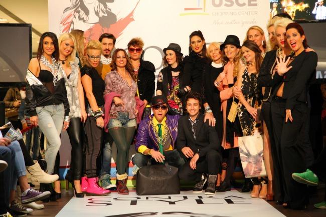 """Ucesnici USCE Contra Style 20131 Novinari stilizuju poznate ličnosti u kontra"""" stilu"""