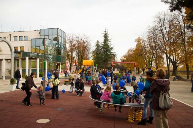 Valjevo2 Raste broj NIVEA dečjih igrališta