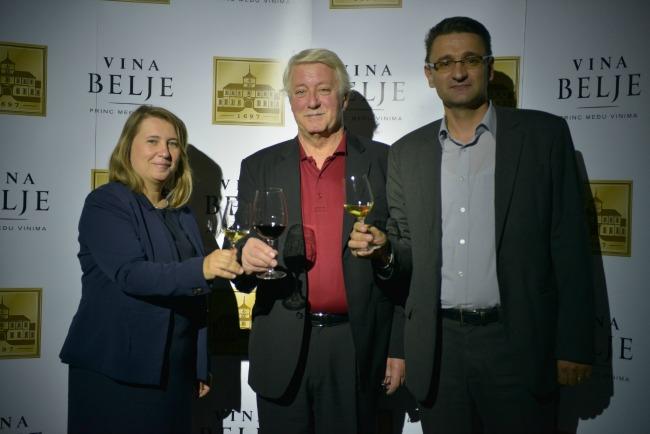 aljosa i vina belje Vina Belje predstavila svoja najbolja vina u Beogradu