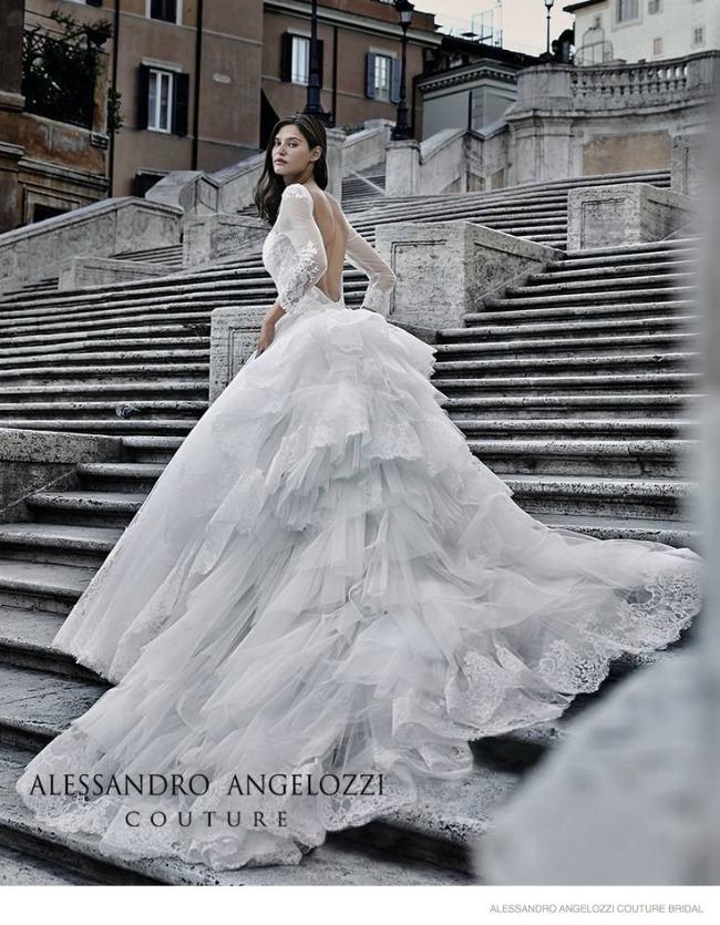 bjanka balti u vencanicama alessandro angelozzi couture 1 Bjanka Balti u venčanicama Alessandro Angelozzi Couture