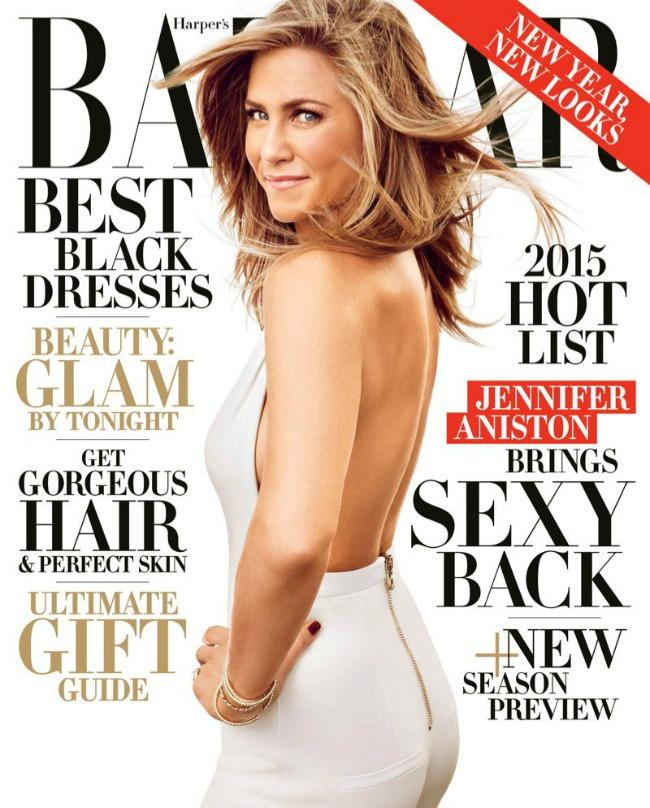 dzenifer eniston na naslovnici magazina harpers bazaar 1 Dženifer Eniston na naslovnici magazina Harpers Bazaar