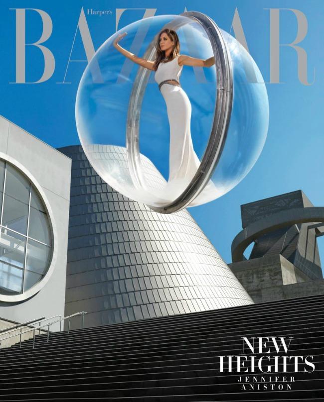 dzenifer eniston na naslovnici magazina harpers bazaar 3 Dženifer Eniston na naslovnici magazina Harpers Bazaar