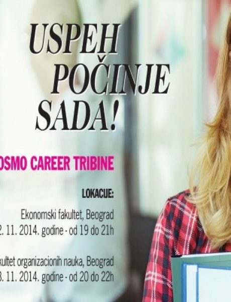 Koraci do uspešne i ostvarene karijere: Cosmo career tribina i AIESEC