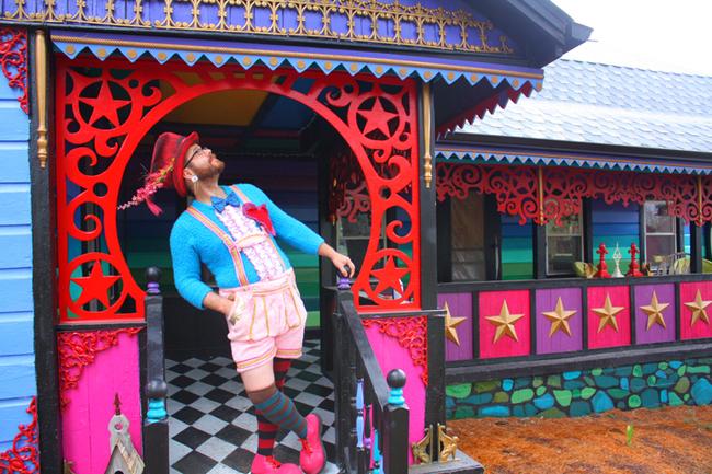 kuca iz maste 1 Kuća iz mašte kao delo umetnika