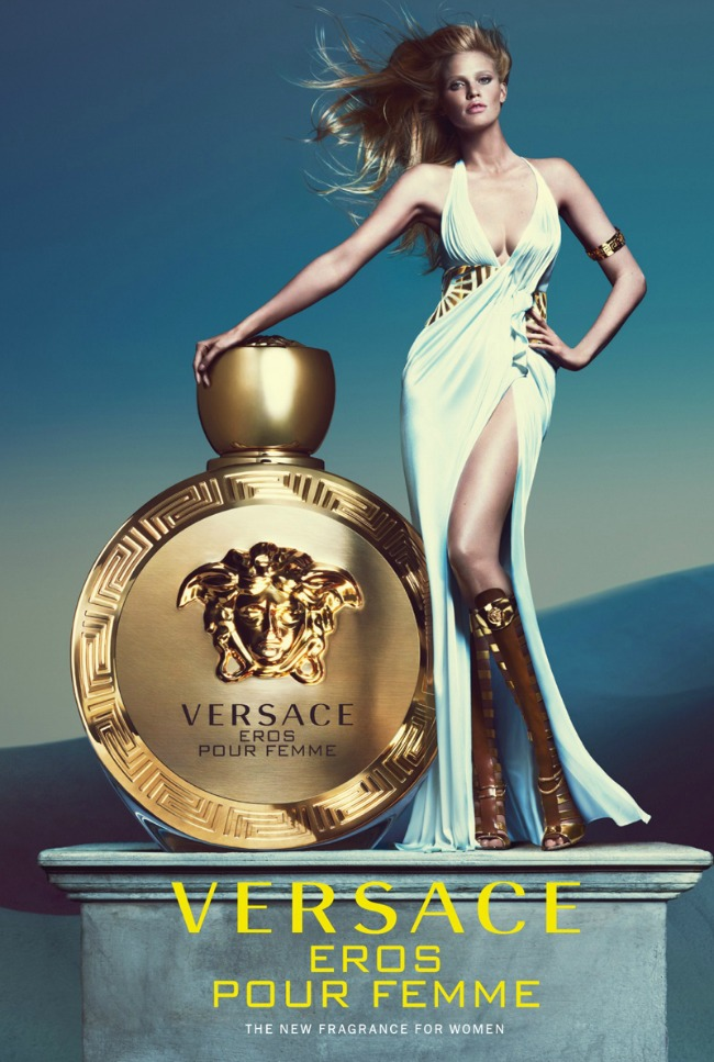 lara stoun u kampanji brenda versace 1 Lara Stoun u kampanji brenda Versace