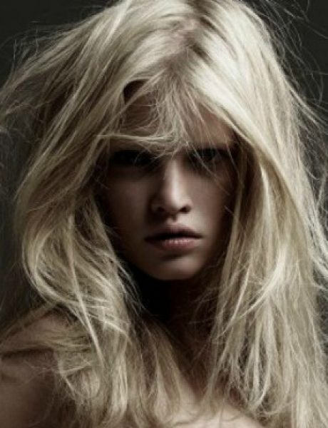 Lara Stoun u kampanji brenda Versace