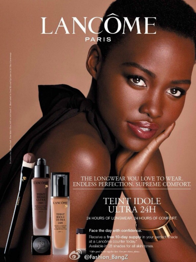 lupita niongo u reklami kozmeticke kuce lancome 2 Lupita Niongo u reklami kozmetičke kuće Lancôme