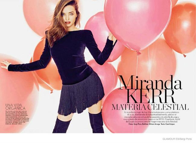 miranda ker krasi spansko izdanje magazina glamour 2 Miranda Ker krasi špansko izdanje magazina Glamour