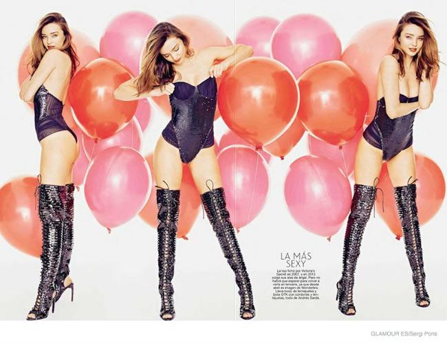 miranda ker krasi spansko izdanje magazina glamour 3 Miranda Ker krasi špansko izdanje magazina Glamour