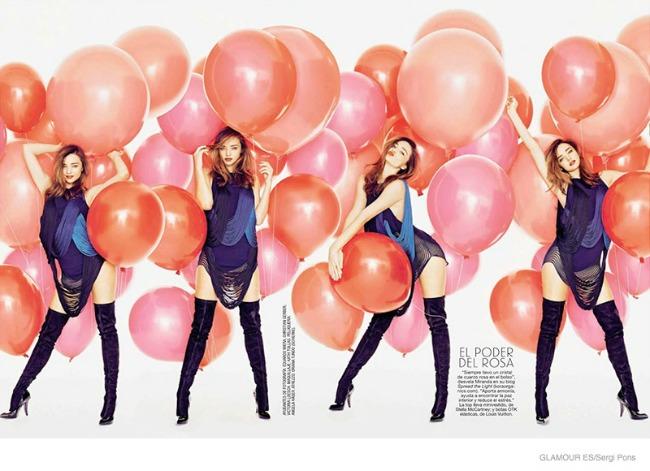 miranda ker krasi spansko izdanje magazina glamour 4 Miranda Ker krasi špansko izdanje magazina Glamour