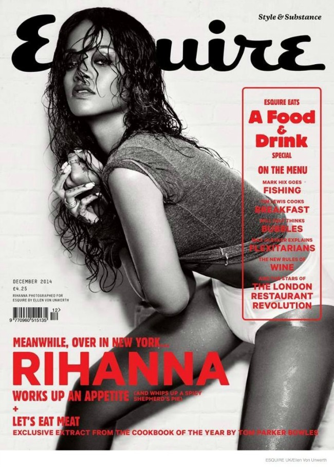 modne vesti zuhair murad rijana i victorias secret esquire uk naslovnica Modne vesti: Zuhair Murad, Rijana i Victorias Secret