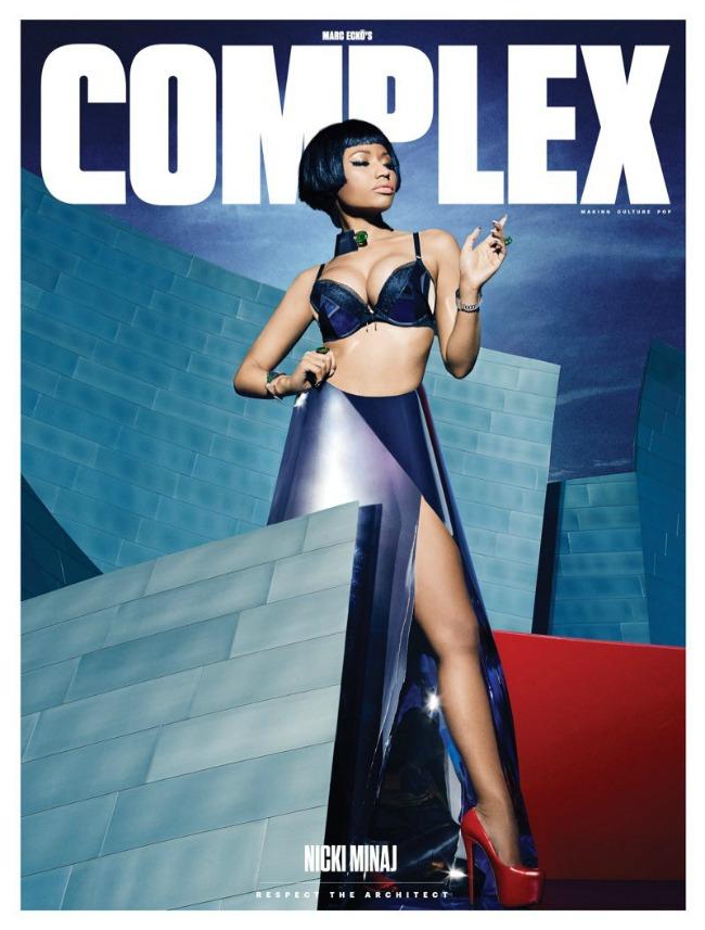 niki minaz na naslovnici magazina complex 1 Niki Minaž na naslovnici magazina Complex