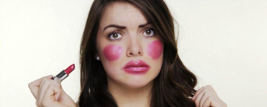Šminkanje: Izbegnite greške