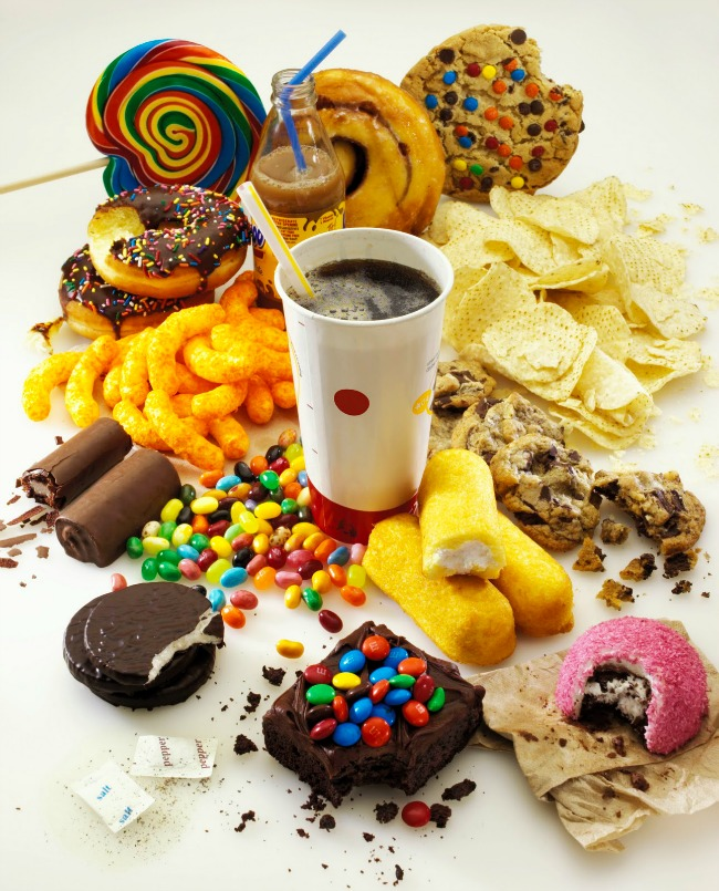 unhealthy food hairloss Odvikavanje od šećera