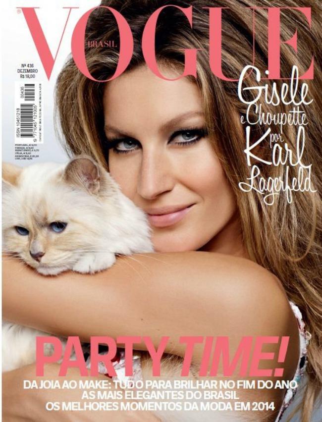 zizel bundsen na naslovnici magzina vogue brazil 1 Žizel Bundšen na naslovnici magazina Vogue Brazil