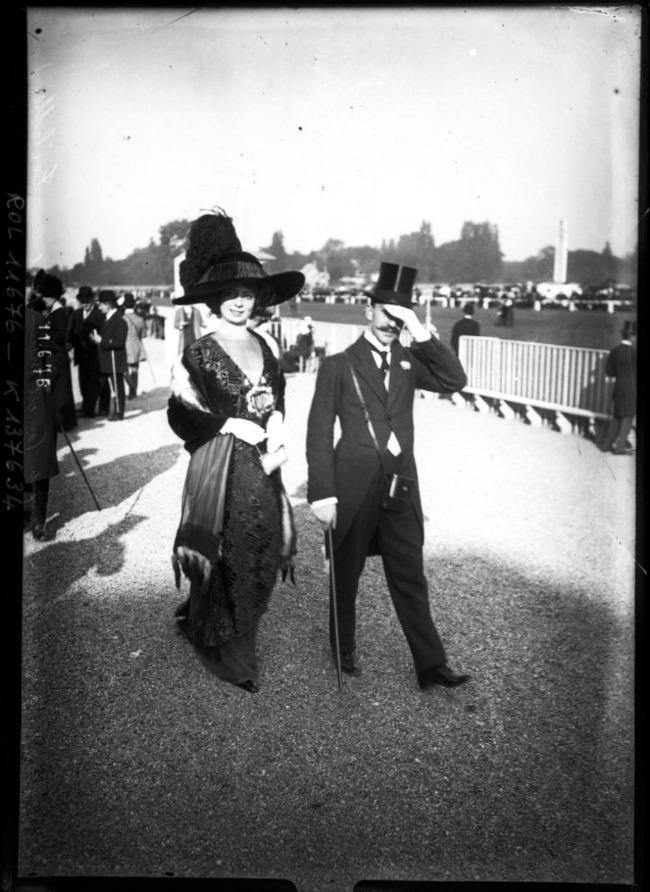 1910 2 Street Style u Parizu početkom dvadesetog veka