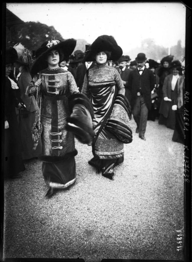 1910 Street Style u Parizu početkom dvadesetog veka