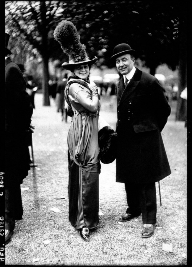 1912 1 Street Style u Parizu početkom dvadesetog veka