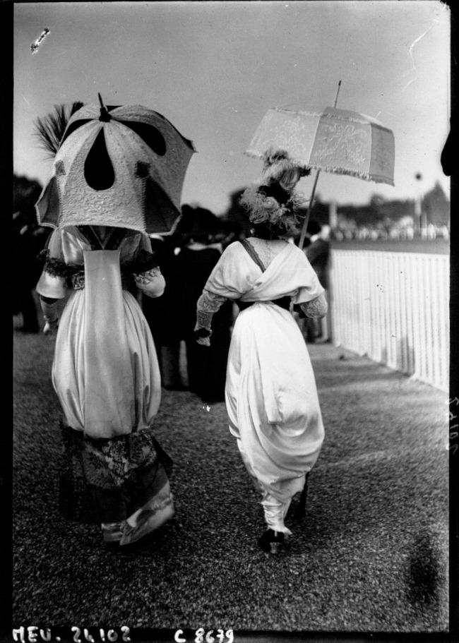 1912 Street Style u Parizu početkom dvadesetog veka
