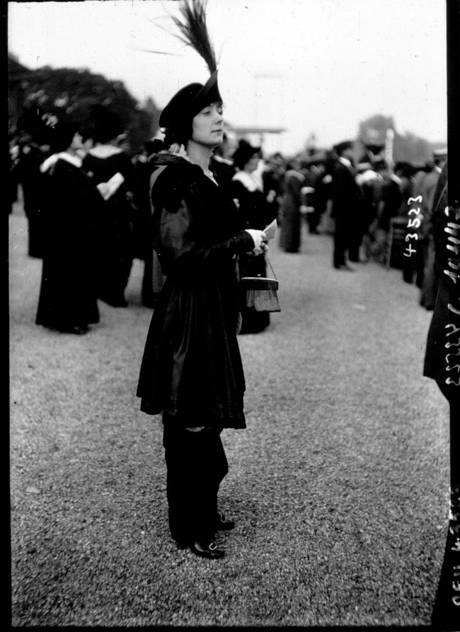 1913 Street Style u Parizu početkom dvadesetog veka