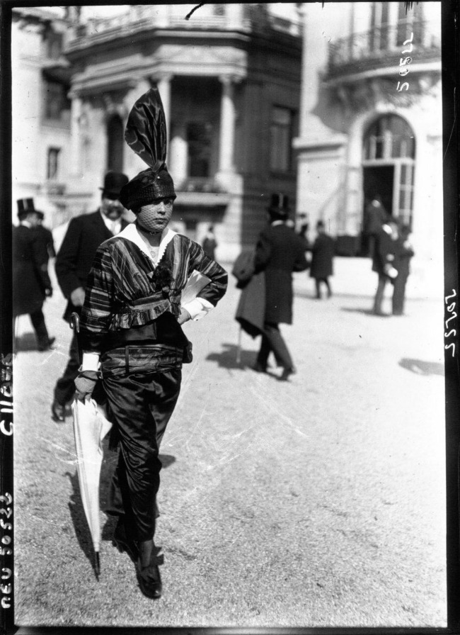 1914 4 Street Style u Parizu početkom dvadesetog veka