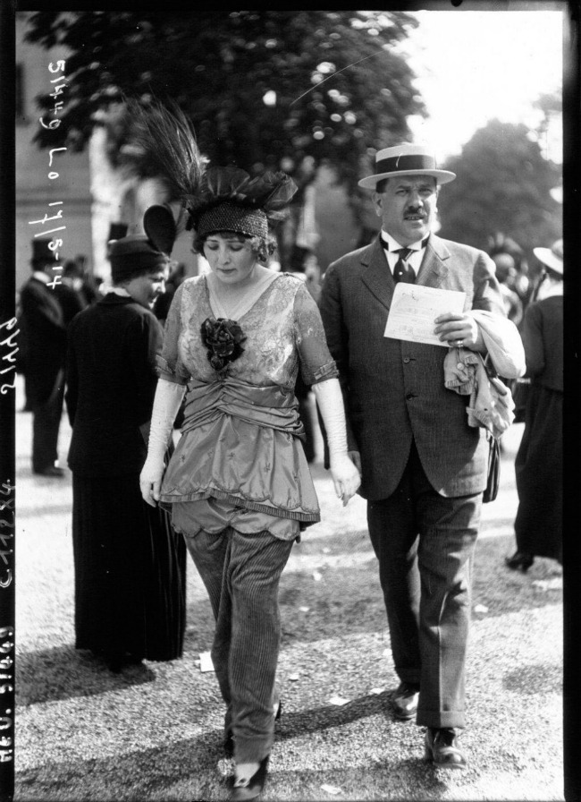1914 Street Style u Parizu početkom dvadesetog veka