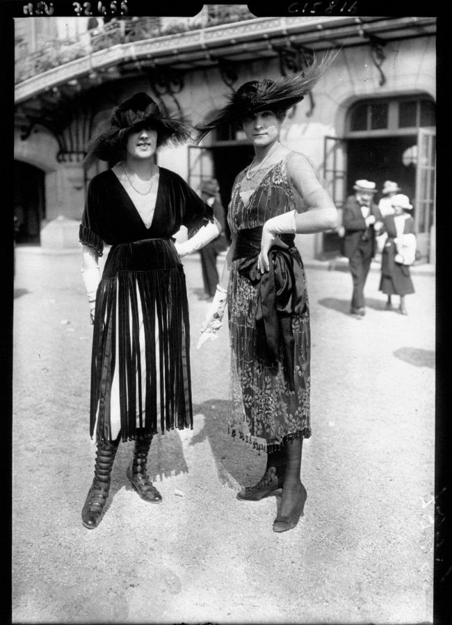 1919 3 Street Style u Parizu početkom dvadesetog veka