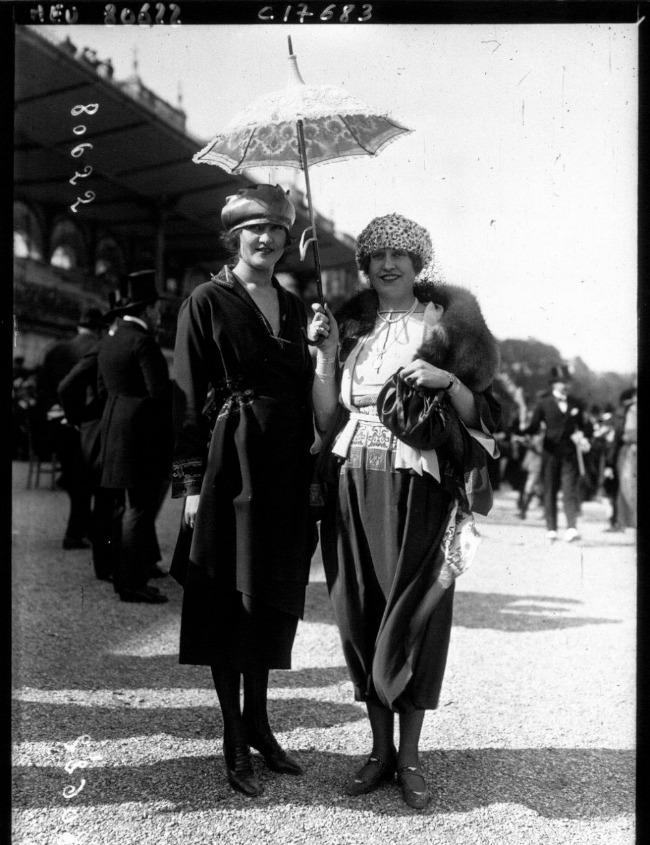 1920 3 Street Style u Parizu početkom dvadesetog veka