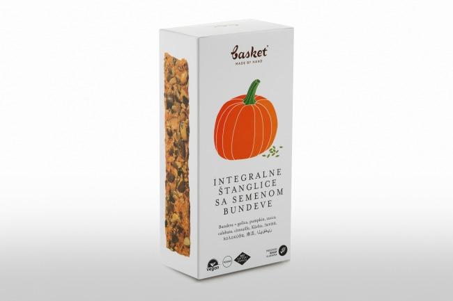 Basket bundeva Basket integralne štanglice sa semenom bundeve i semenom suncokreta…hrskavo i sočno!