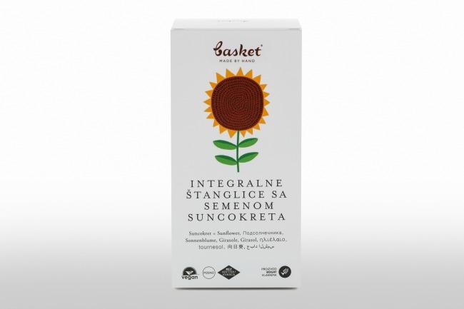 Basket sunkocret 1 Basket integralne štanglice sa semenom bundeve i semenom suncokreta…hrskavo i sočno!