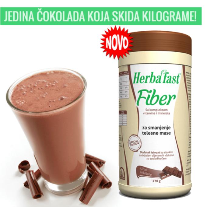 Herbafast choko 11 Konačno! Čokolada od koje gubimo kilograme!