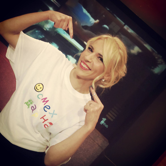 Irina Radovic Humanitarna žurka Osmeh na dar