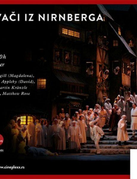 Za ljubitelje opere: Majstori pevači iz Nirnberga u bioskopu Cineplexx
