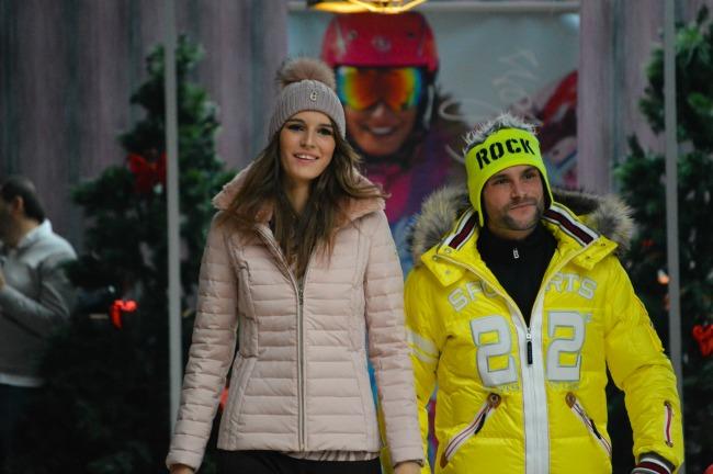 Modna revija4 Modna kolekcija zimskih brendova na Ski Openingu