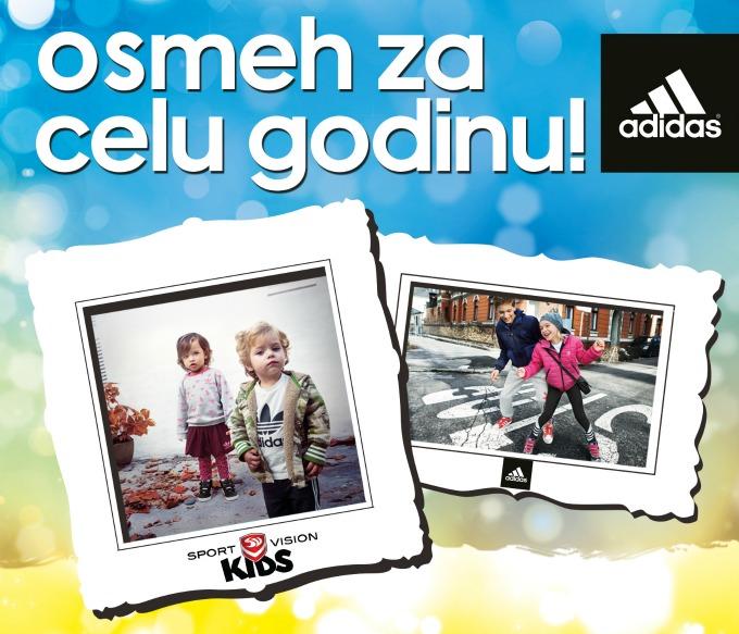 Osmeh za celu godinu Sport Vision Kids: Akcija Osmeh za celu godinu
