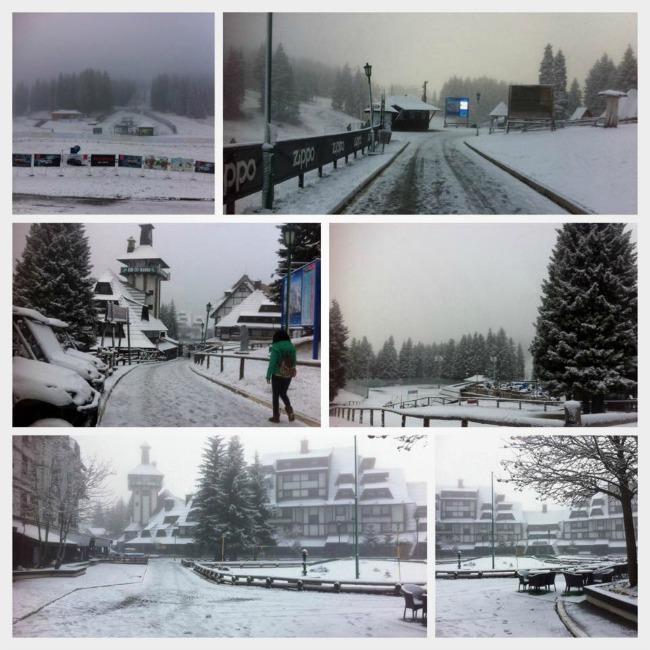 Poceo da pada sneg na Kopaoniku Na Kopaoniku počeo da pada sneg
