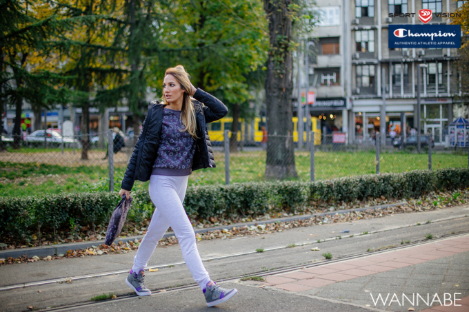 Sandra Fluid girls Champion modni predlog Wannabe 10 2 Champion modni predlog: Decembar u ljubičastom