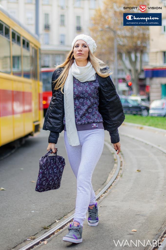 Sandra Fluid girls Champion modni predlog Wannabe 7 2 Champion modni predlog: Decembar u ljubičastom
