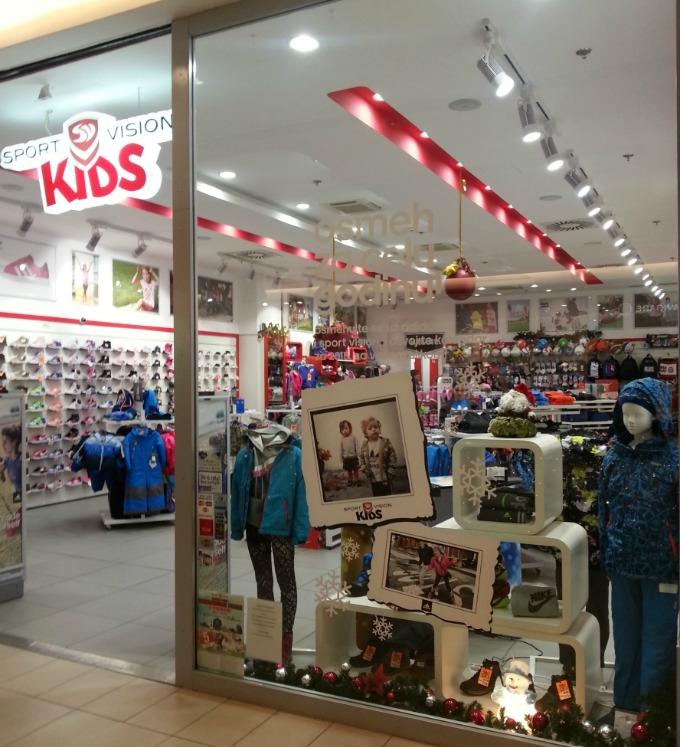 Sport Vision prodavnica Sport Vision Kids: Akcija Osmeh za celu godinu