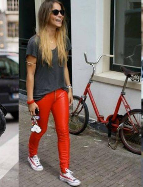 Kožne pantalone: Najbolji momenti u pop kulturi