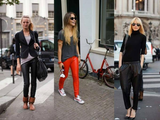 Street Style1 Kožne pantalone: Najbolji momenti u pop kulturi