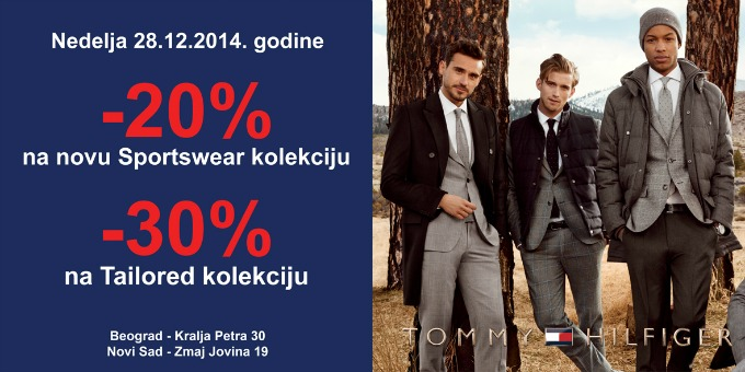 Tommy Holiday banner  Tommy Hilfiger Holiday akcija